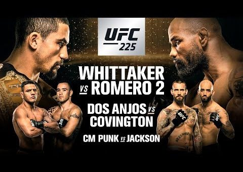 UFC 225: Whittaker vs Romero 2