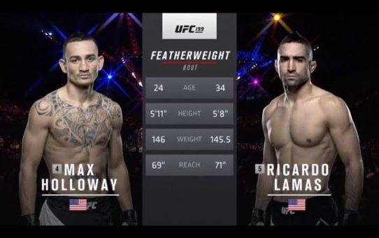UFC 226 Free Fight: Max Holloway vs Ricardo Lamas