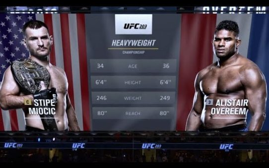 UFC 226 Free Fight: Stipe Miocic vs Alistair Overeem