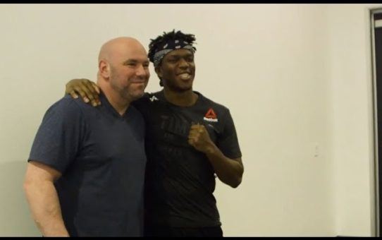 UFC Behind the Stream with KSI