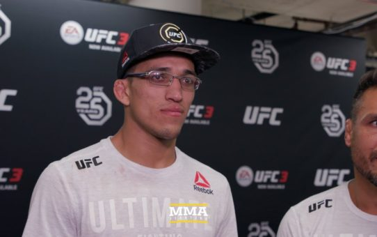 UFC 225: Despite Clay Guida Win, Charles Oliveira Still Planning On Move Back To Featherweight