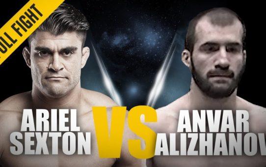 ONE: Full Fight   Ariel Sexton vs. Anvar Alizhanov   Crafty Keylock   December 2014