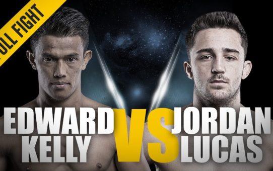 ONE: Full Fight | Edward Kelly vs. Jordan Lucas | A Thrilling Comeback | March 2016
