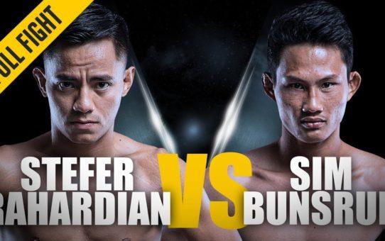 ONE: Full Fight | Stefer Rahardian vs. Sim Bunsrun | Slick Submission | September 2017