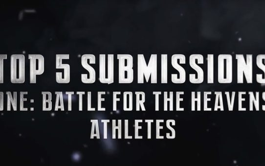 ONE Highlights | Top 5 Submissions From ONE: BATTLE FOR THE HEAVENS Athletes