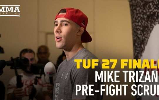 Mike Trizano: No One Was Allowed Upstairs at TUF House Or They'd Be 'Kicked Off' – MMA Fighting