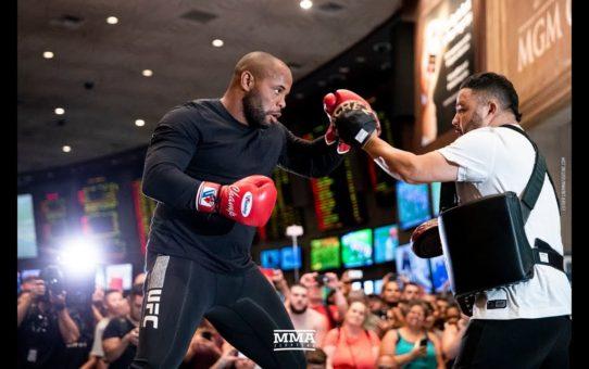 Daniel Cormier UFC 226 Open Workout Highlights – MMA Fighting
