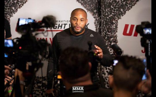 Daniel Cormier UFC 226 Open Workout Scrum – MMA Fighting