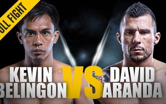 ONE: Full Fight   Kevin Belingon vs. David Aranda   Devastating KO   December 2013