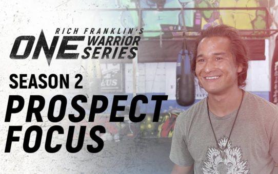 Rich Franklin's ONE Warrior Series | Season 2 | Prospect Focus: Zechariah Lange