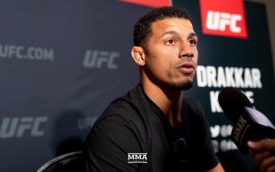 UFC 226: Drakkar Klose Says He 'Cut Everyone Out' After Loss To David Teymur – MMA Fighting
