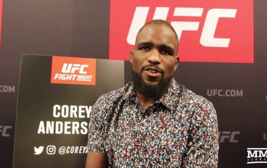 Corey Anderson Thinks Daniel Cormier Could Wait Jon Jones' Return – MMA Fighting