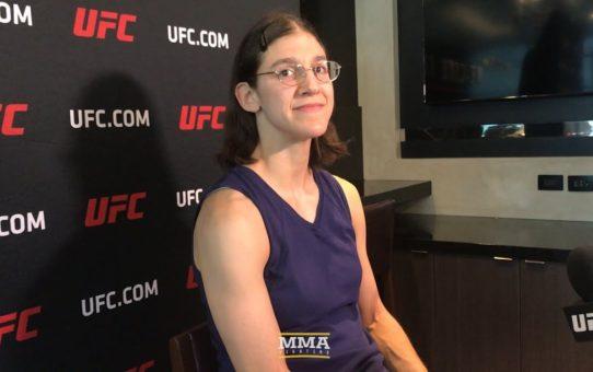 Roxanne Modafferi: UFC Champ Nicco Montaño is 'Not Afraid of Anybody' – MMA Fighting