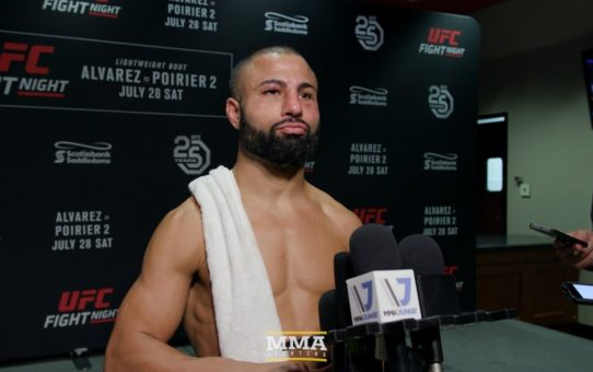 UFC on FOX 30: John Makdessi 'Felt Bad' For Ross Pearson: 'I Didn't Want To Hit Him No More'