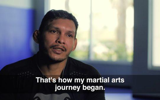 ONE Feature   Luis Santos' Martial Arts Journey