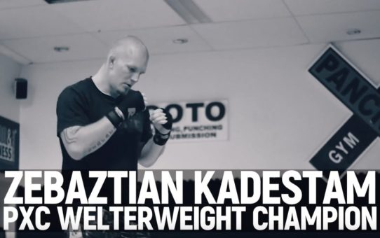 ONE: Feature   Martial Arts Gave Zebaztian Kadestam A Higher Purpose
