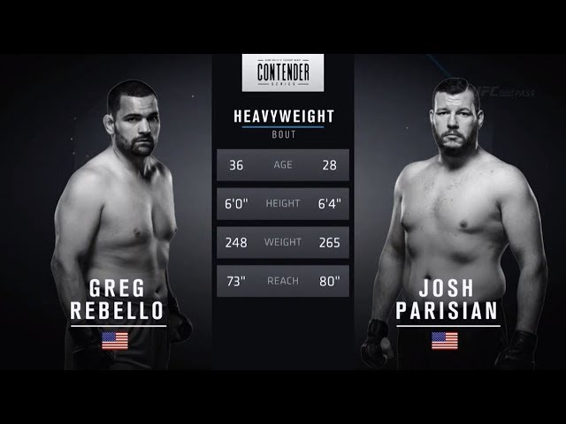 FREE FIGHT | Perfect Spinning Back Fist from Parisian | DWTNCS Week 3 Contract Winner - Season 2