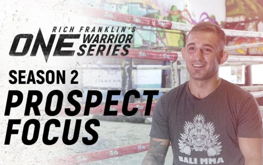 Rich Franklin's ONE Warrior Series   Season 2   Prospect Focus: Kaan Ofli