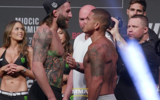 UFC 226 Ceremonial Weigh-In Highlights – MMA Fighting