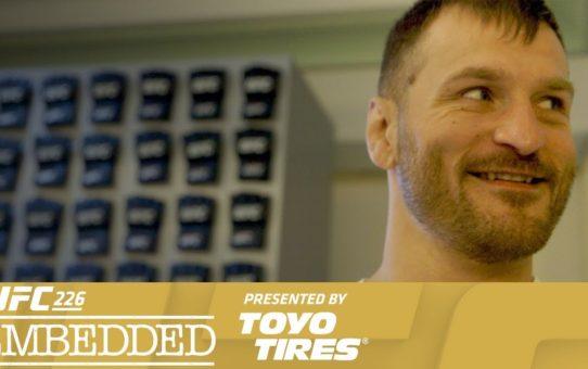 UFC 226 Embedded: Vlog Series – Episode 3
