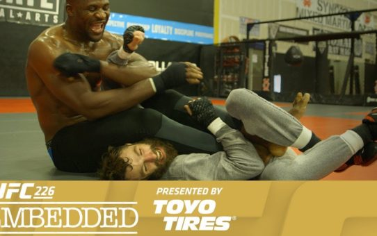 UFC 226 Embedded: Vlog Series – Episode 4