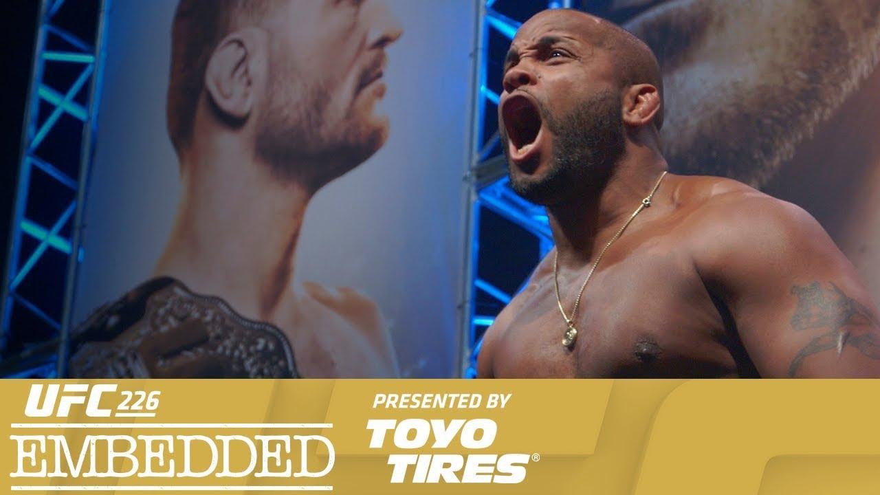 UFC 226 Embedded: Vlog Series - Episode 6