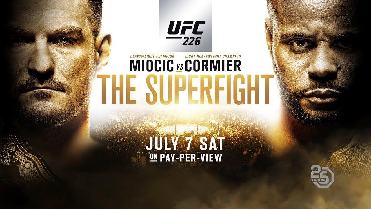 UFC 226: Legends Rise