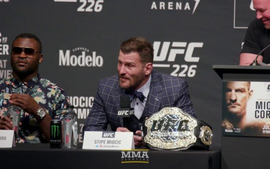 UFC 226: Miocic vs. Cormier Press Conference – MMA Fighting
