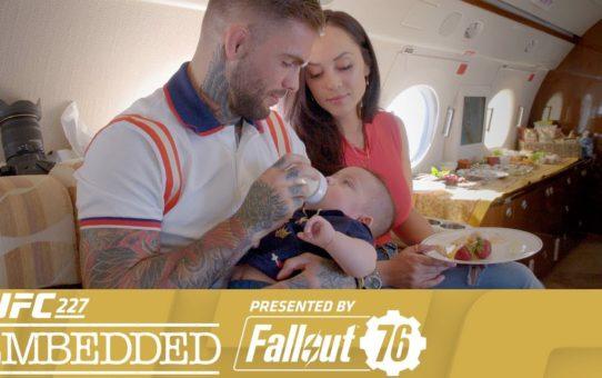 UFC 227 Embedded: Vlog Series – Episode 1