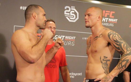 UFC Hamburg Weigh-In Staredowns – MMA Fighting
