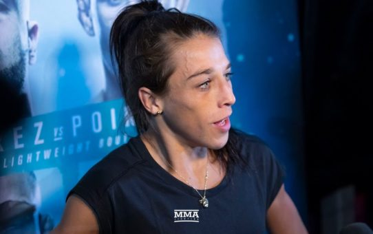 UFC on FOX 30: Joanna Jedrzejczyk Open Workout Scrum – MMA Fighting
