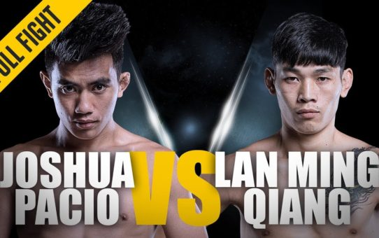 ONE: Full Fight | Joshua Pacio vs. Lan Ming Qiang | Ground Dominance | January 2018