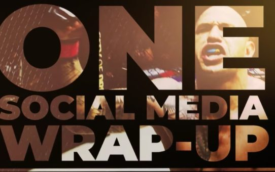 ONE Social Media Wrap-Up   5 August 2018