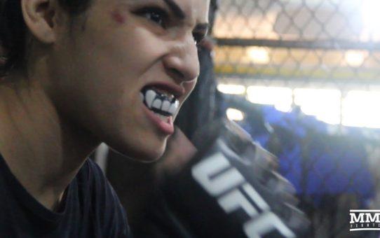 Thiago Santos, Polyana Viana Prepare For UFC 227 – MMA Fighting
