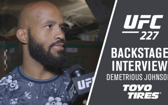 UFC 227: Demetrious Johnson – 'It's Part of the Game '