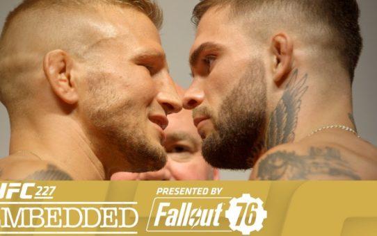UFC 227 Embedded: Vlog Series – Episode 5
