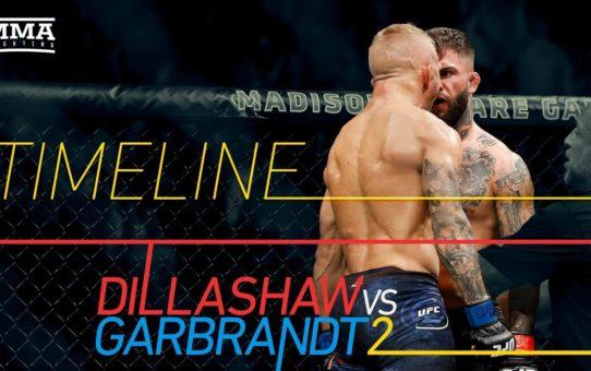 UFC 227 Timeline: TJ Dillashaw vs. Cody Garbrandt 2 – MMA Fighting