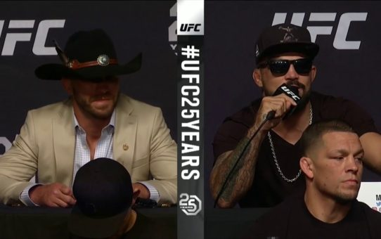 UFC 25th Anniversary Fall Press Conference Highlights
