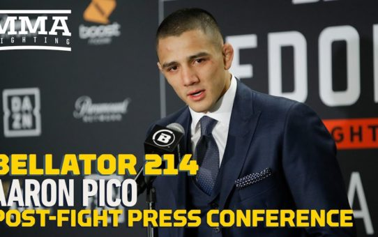 Bellator 214: Aaron Pico Post-Fight Press Conference – MMA Fighting