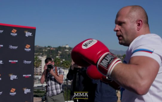 Bellator 214: Fedor Emelianenko Open Workout Highlights – MMA Fighting