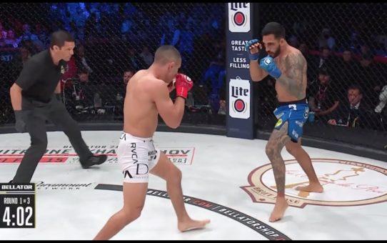 Bellator 214: Henry Corrales vs. Aaron Pico – KO moment