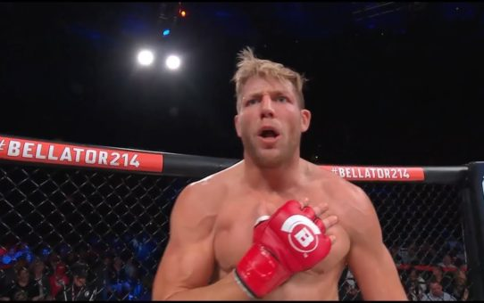 Bellator 214: Jake Hager – Submission Finish and Post Fight Interview