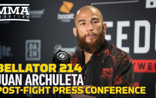 Bellator 214: Juan Archuleta Post-Fight Press Conference – MMA Fighting