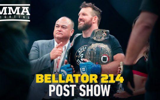 Bellator 214 Post-Fight Show – MMA Fighting