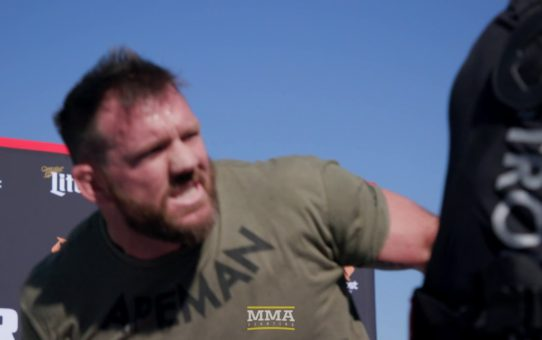 Bellator 214: Ryan Bader Open Workout Highlights – MMA Fighting