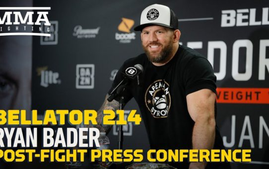 Bellator 214: Ryan Bader Post-Fight Press Conference – MMA Fighting
