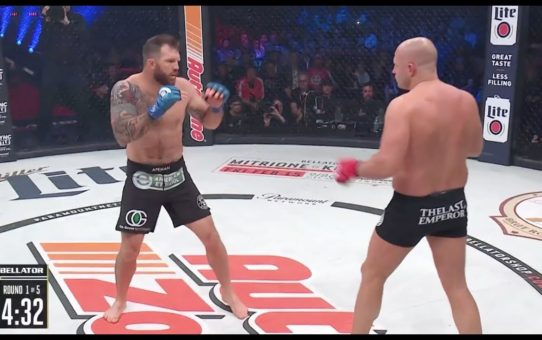 Bellator 214: Ryan Bader vs. Fedor – KO moment
