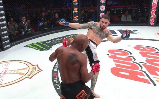 Bellator 214: Ryan Lilley vs. James Barnes – KO Moment