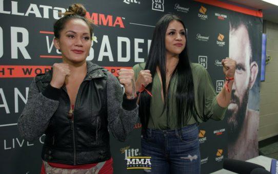 Ilima-Lei Macfarlane vs. Veta Arteaga Bellator Staredown – MMA Fighting