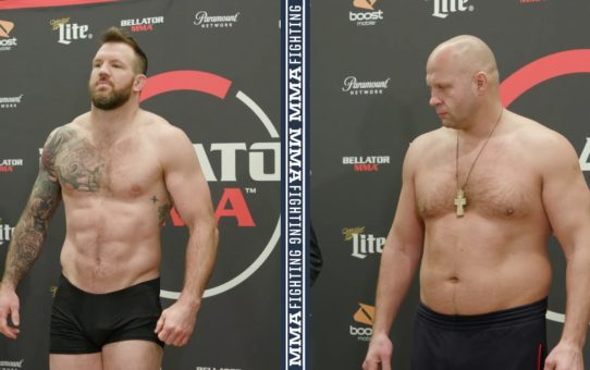 Bellator 214 Weigh-Ins: Ryan Bader, Fedor Emelianenko Make Weight – MMA Fighting